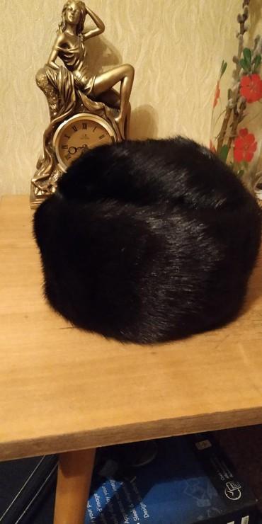 Головной-убор-норковые - Кыргызстан: Новая норковая шапка женская 56-57 размер