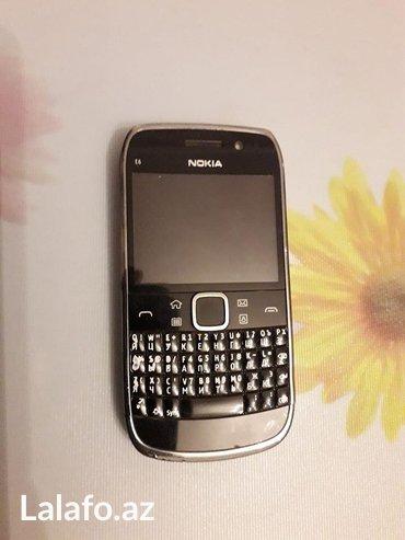 Bakı şəhərində Nokia e6 telefonu satilir. Telefon normal veziyetdedir. Hem sensor