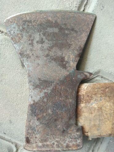 топор лопатка в Кыргызстан: Прочный советский топор, длина рубящего острия 13 см,универсальный
