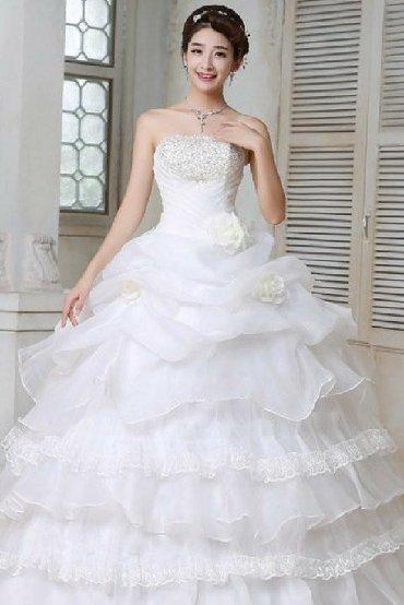 1808 объявлений: Срочно продам свадебное платье! Цвет белый рис. 42-44 (на 46 тоже