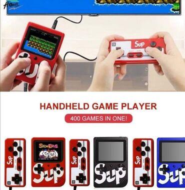 Sup Game box mini konzola sa klasičnim igricama 400u1 + džojstik400