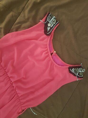 Preslatka pink letnja haljina