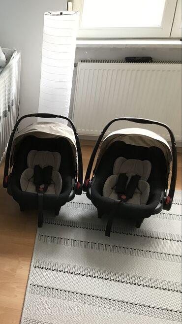 Auto sediste za decu - Srbija: Bebetto 42 kolica za blizance sistem 3 u 1: kolevka, auto sedište (jaj