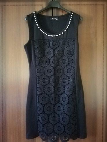 Crna haljina sa detaljima cipke i bisera Kombinacija za sve prilike - Lajkovac