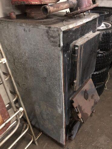 Отопление и нагреватели - Кыргызстан: Продаю кател на твёрдом топливе фирмы TANSU печка печь ТАНСУ в хорошем