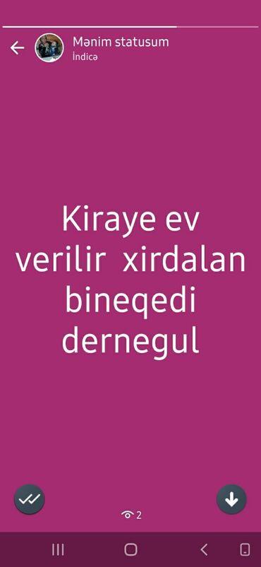 kiraye obyektler 2018 в Азербайджан: Сдам в аренду Дома от собственника Долгосрочно: 2 кв. м, 2 комнаты