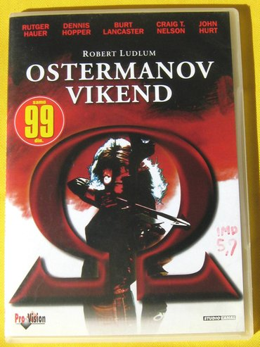 Film: Ostermanov vikend (The Osterman Weekend).  Format: DVD Žanr: - Beograd