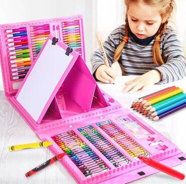 Набор юнога художника для детей 🔥.  В комплект входит:   🔻 акварельны