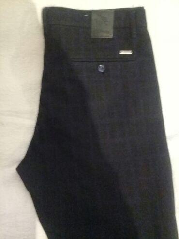 Новые классические штаны мужские теплые куплены в турции размер 34