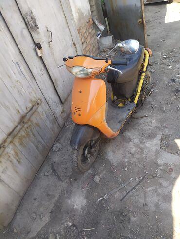 Мотоциклы и мопеды - Кыргызстан: Хонда Дио 50 кубиков ! Скутер мопед Есть проблемка карбюратор парит
