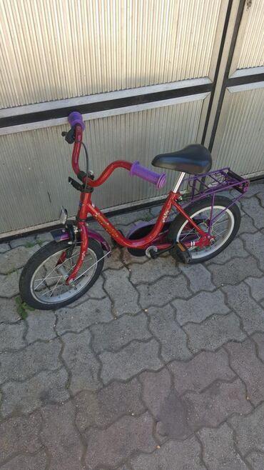 Sport i hobi - Odzaci: Deciji bicikl 14 cola ocuvan uvoz svajcarska