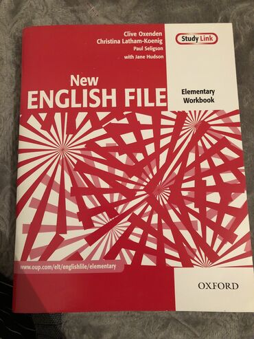 New english file,elementary workbook yenidir