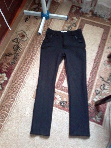 Черные брюки на девочку, с начесом, в Бишкек