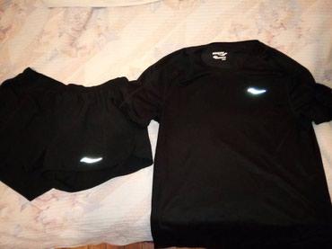 Saucony τεχνικη μπλουζα και σορτς καινουρια, 20ε το καθε ενα
