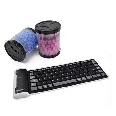 Клавиатуры в Кыргызстан: Универсальная беспроводная клавиатура Bluetooth