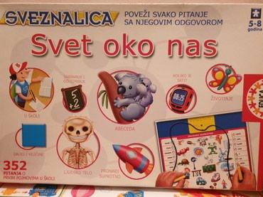 Edukativna igra za decu, kompletna, vrlo malo koriscena - Cacak