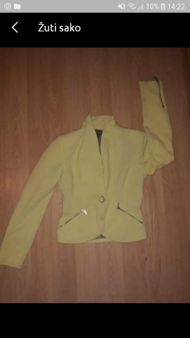 Amisu kratka jaknica icine - Srbija: Zuti amisu sako/jaknica,u extra stanju