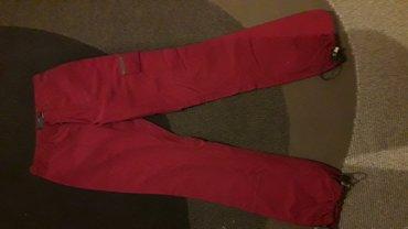 Pantalone su kao nove ,bez mana i zimske su/postavljene,boja je bordo. - Kraljevo