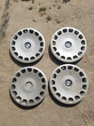 купить литые диски r14 4 98 бу в Кыргызстан: Колпаки бмв r15 комплект 4 штуки