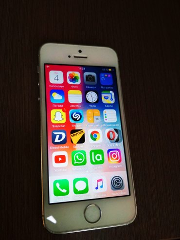 Продаю iphone 5s шустрый со старой в Бишкек