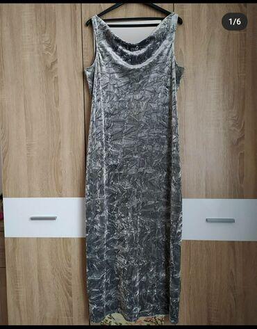 Elegantna haljina za svaku priliku. Velicina 44, rastegljiva do 46