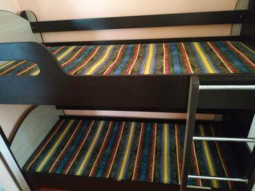 детские в Кыргызстан: Продается детская 2х ярусная кровать в г.Кара-Балта в отличном состоян