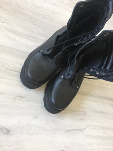Ботинки - Кок-Ой: Берцы, 43 размера, новые, кожанные