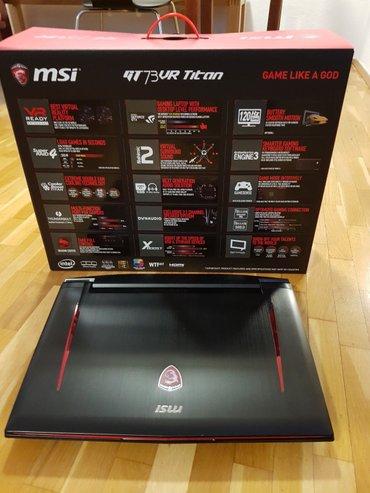 """Mingəçevir şəhərində MSI GT73VR TITAN PRO 17.3"""" Gaming Laptop i7"""