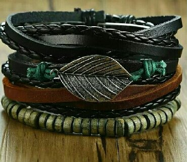 Ostali nakit - Srbija: Nova muska narukvica, cena 400 dinara