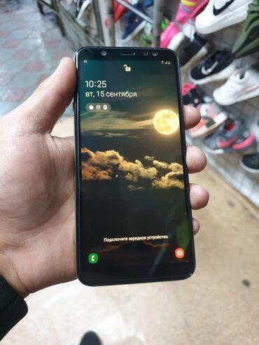 samsung a6 в Кыргызстан: Samsung Galaxy A6 plusСостояние идеальное. На экране дорогое защитное