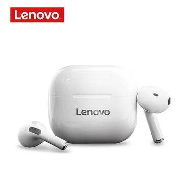 Оригинальный Lenovo LP40 наушники-вкладыши TWS True Wireless