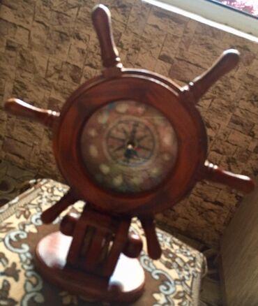 Əntiq saatlar - Azərbaycan: Saat dekorativ qoz aqacindandir. Vatsapa da yaza bilersiz