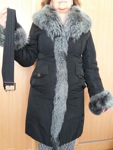 Продаю б/у зимнее пальто. размер 48-50. в Бишкек
