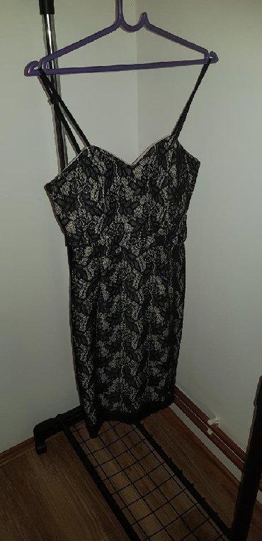 Haljina-cipkasta - Srbija: Cipkasta haljina uska uz telo, univerzalna velicina