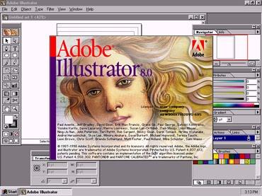 Bakı şəhərində Zinyət Tədris Mərkəzində Adobe Illustrator proqramından