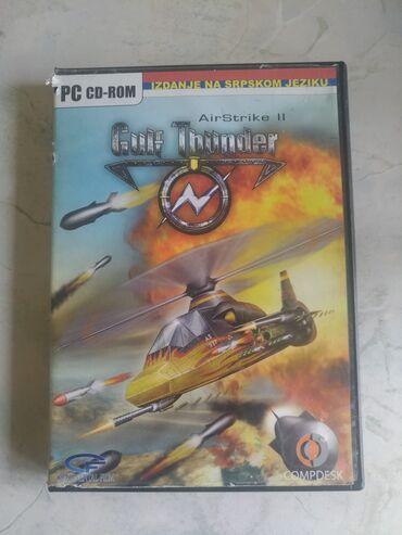 Fly pc 200 - Srbija: AirStrike II: Gulf Thunder Ispravna i original igrica za PC