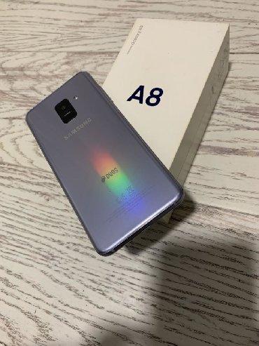 Samsung c6112 duos - Srbija: Samsung Galaxy A8 2018-DUOS-LAVANDER GRAY-Kompletna opremaOdlican