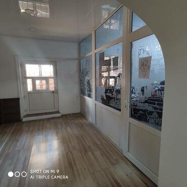 Сдается офисное помещение 4 комнаты и два больших холла.Исанова