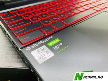 игровая клавиатура для телефона в Кыргызстан: Ноутбук мощный игровой-MSI-модель-GL65(MS-16U8-процессор-core
