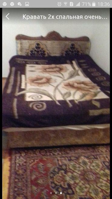 Кравать двух спальная матрас Лина в в Кок-Ой