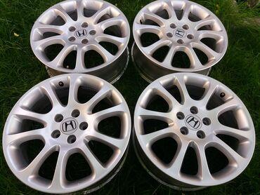 Оригинал R18 литые диски Honda CR-V3 (рестайлинг)Параметры : R18/PCD