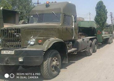 Услуги полноприводной спецтехники по Кыргызстану: 2 Краза Тралла