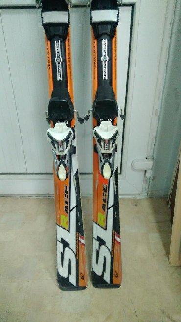Лыжи в Кыргызстан: Горные лыжи Blizzard SL 167 см, крепления 12 din