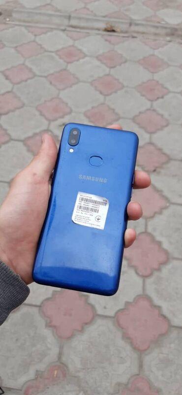 Samsung-j-7-6 - Кыргызстан: Б/у Samsung A10s 32 ГБ Синий