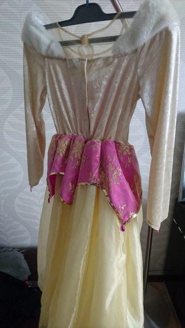 zhenskie-mokasiny-iz-tekstilya в Азербайджан: Платье Bell Disneyland 10,11 let Don Платье   iz Krasavica cudovişe