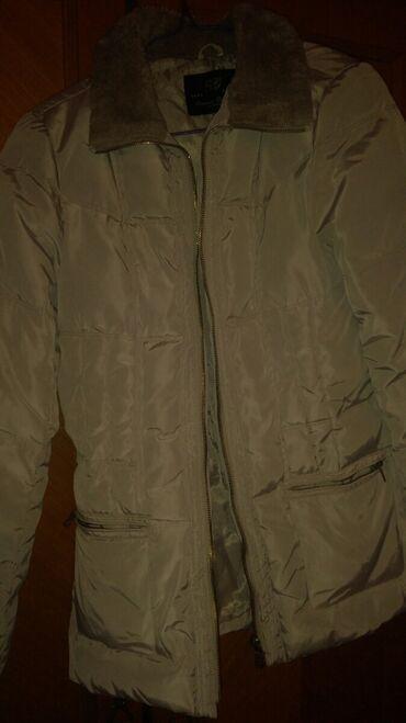 Zara jakna za devojcice 164 cm do 14 god svetlo siva boja jakne,blago