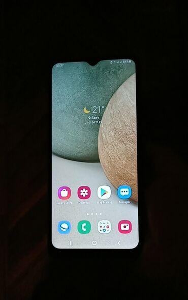 446 elan: Samsung Galaxy A12   32 GB   Göy   Sensor, Barmaq izi, İki sim kartlı