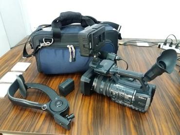 full hd видеокамеры в Азербайджан: Sony HDR AX 2000 Full HD  Əla vəziyətdə heç bir problemi yoxdur 1920 1