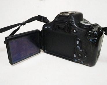 Canon 600d с пробегом всего лишь 21к. Продаю в Бишкек