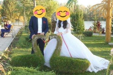Продаю шикарное свадебное платье со в Лебединовка